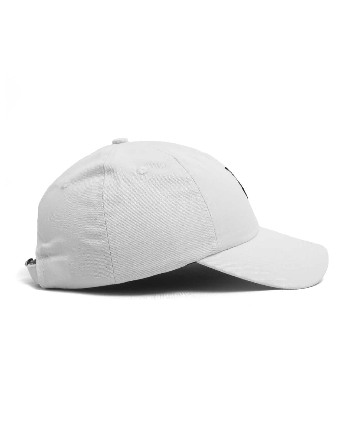 Excision 'Sliced' Logo Dad Hat - White/Black