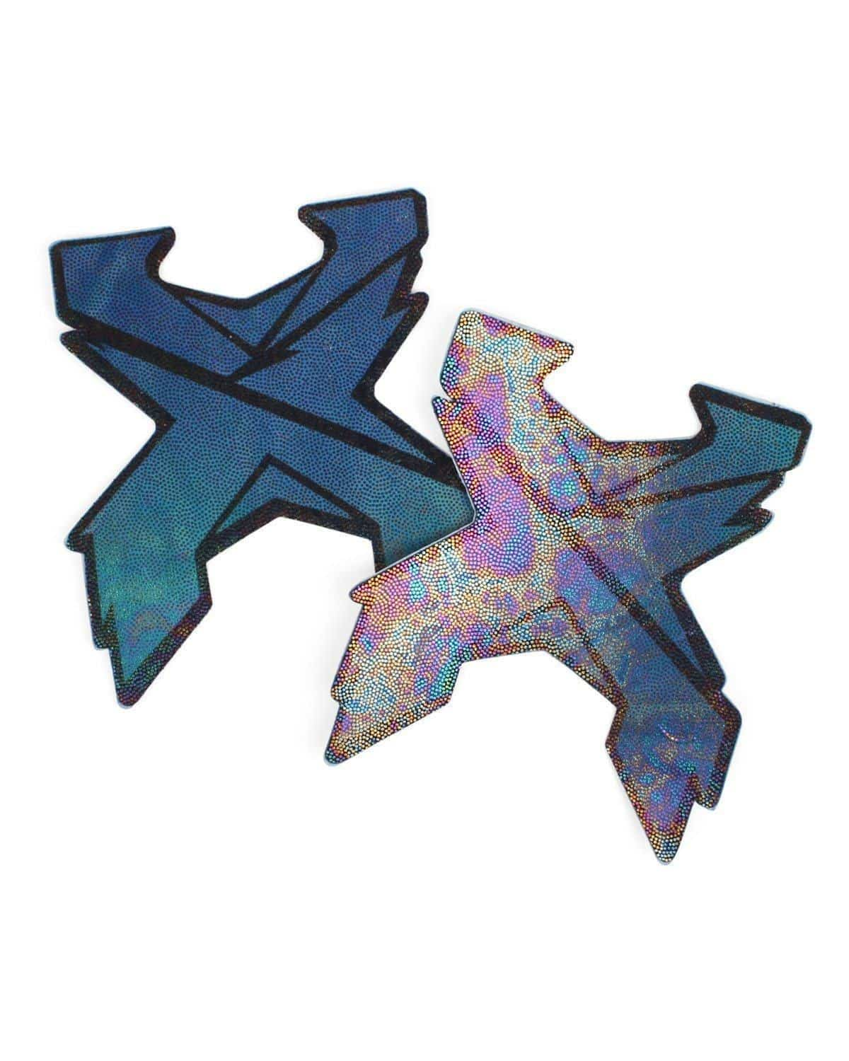 Excision 'Sliced' Logo Pasties by Pastease