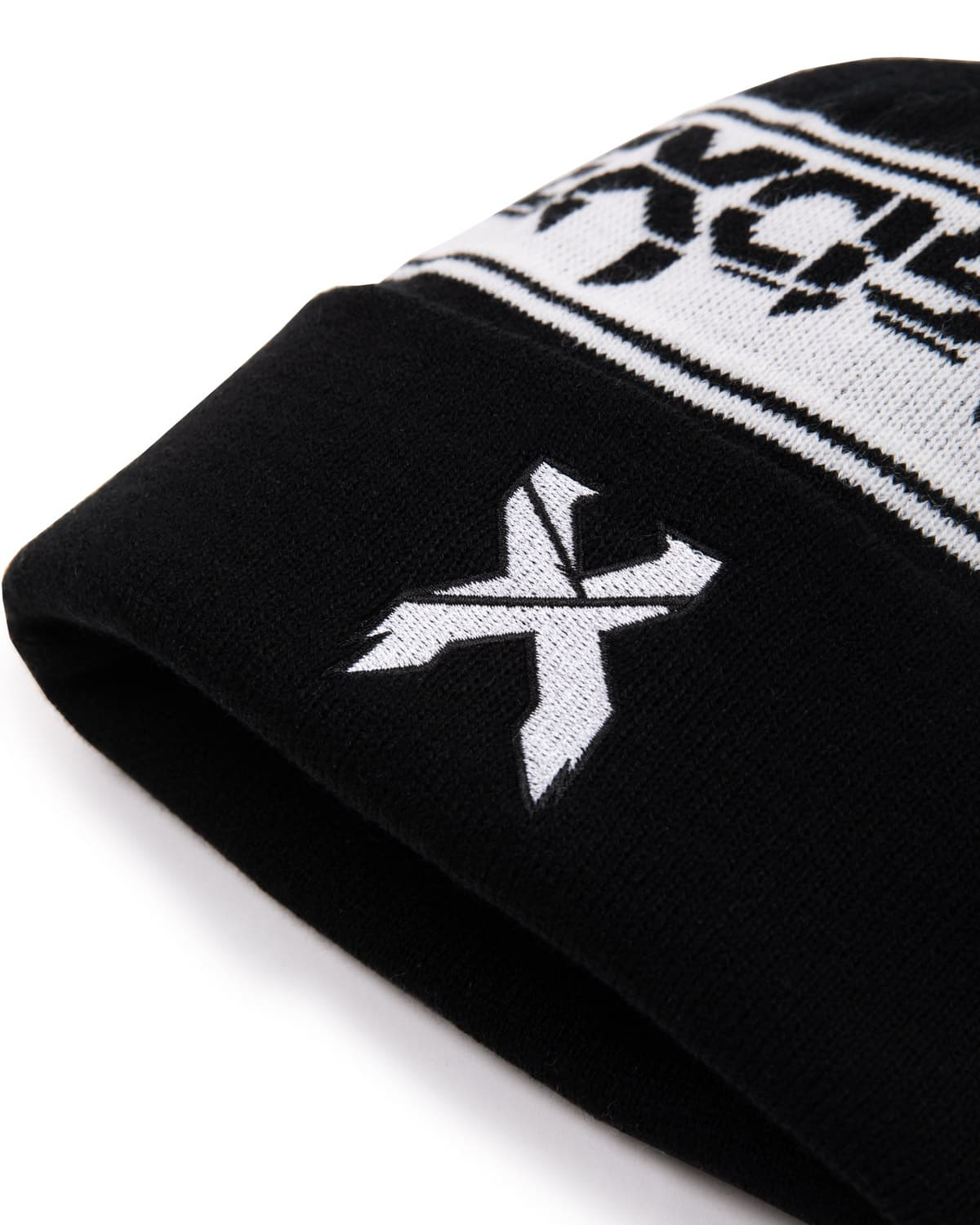 Excision 'Sliced' Pom Beanie