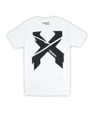 Excision Sliced Up Unisex T-Shirt - White