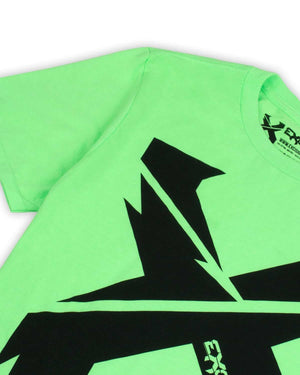 Excision Sliced Up Unisex T-Shirt - Green