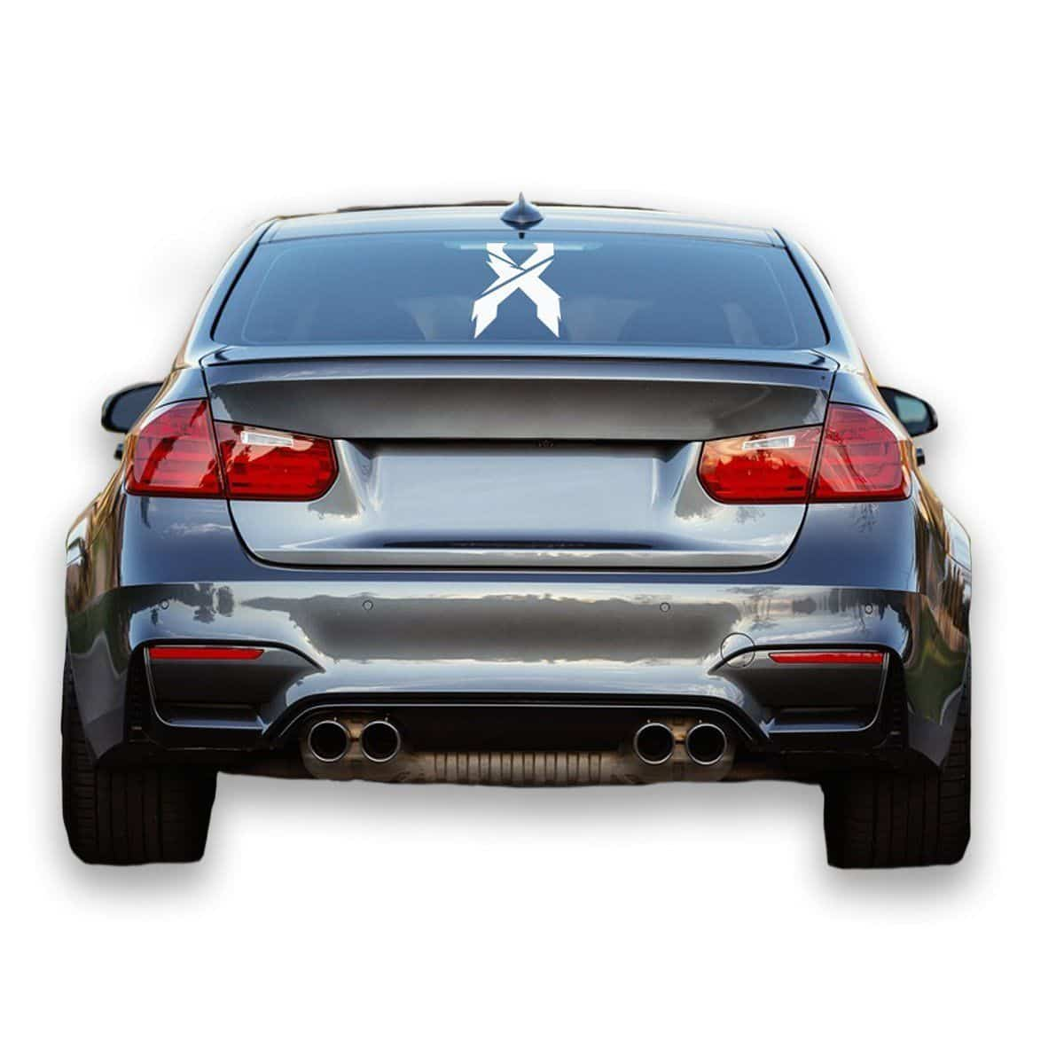 Excision 'Sliced'  Symbol Vinyl Decal
