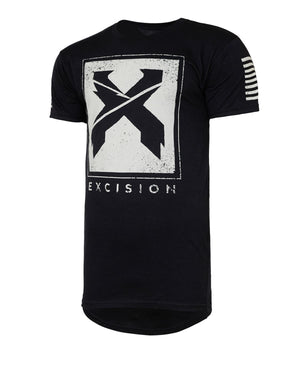 Excision 'Street' Droptail Tee - Black