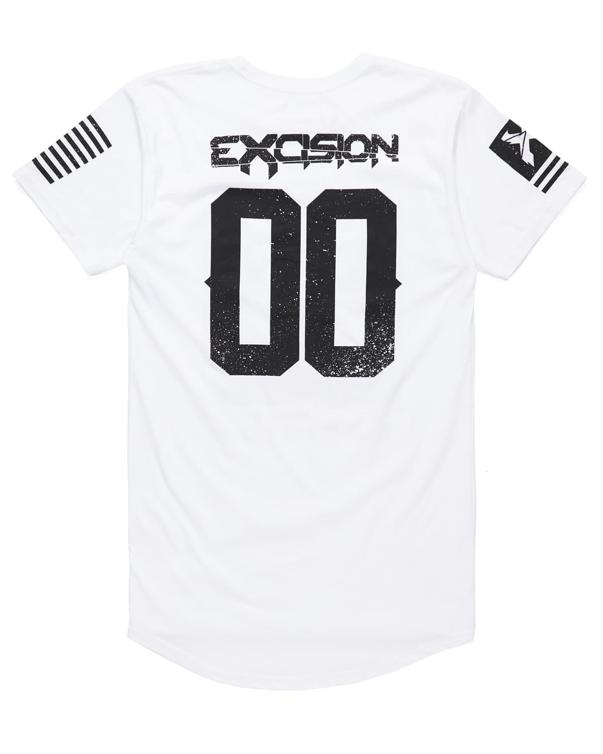 Excision 'Street' Droptail Tee - White