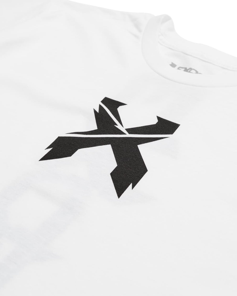Excision Vertical Tee - White