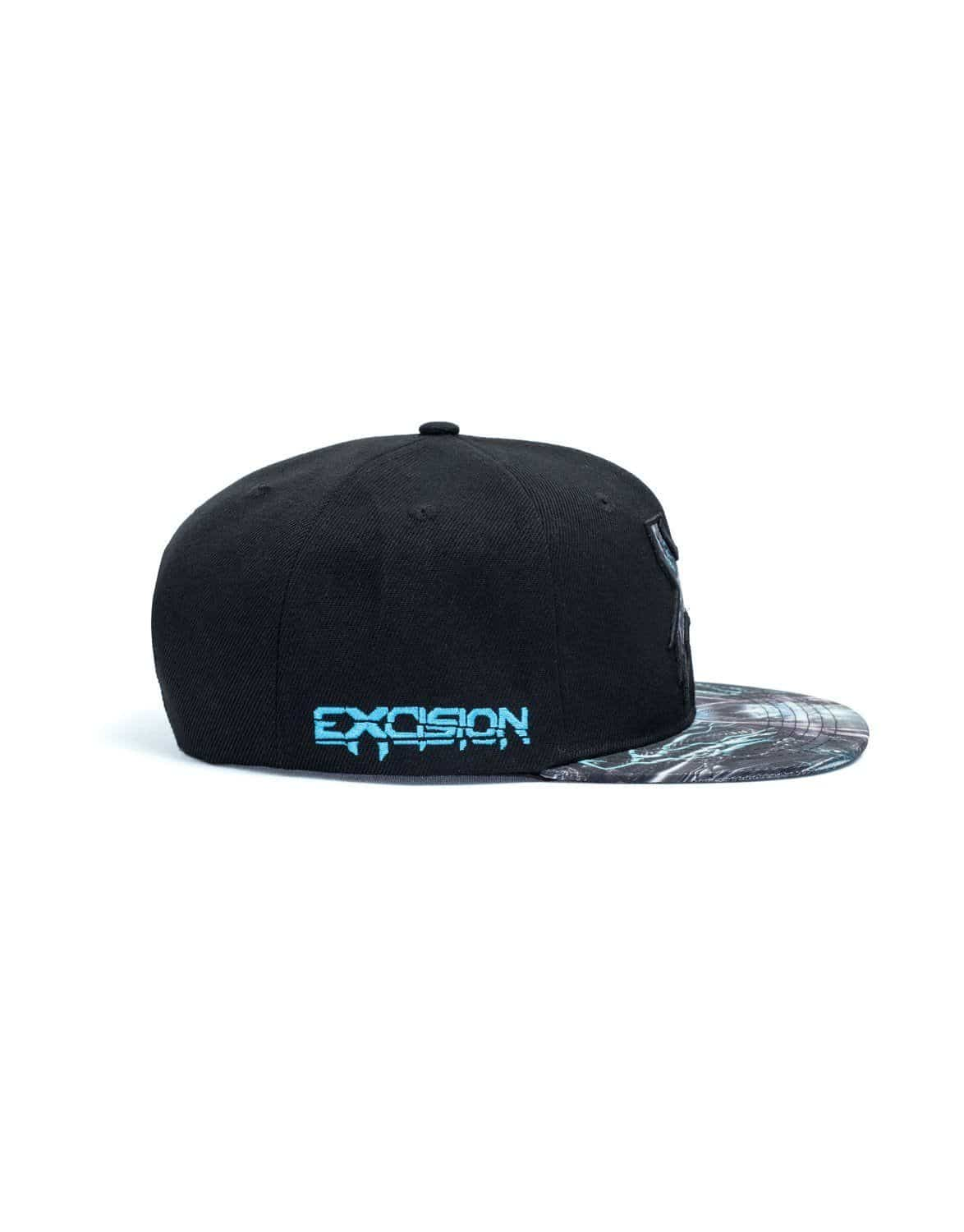 Excision 'The Paradox Tour 2018' Snapback - Black/Blue