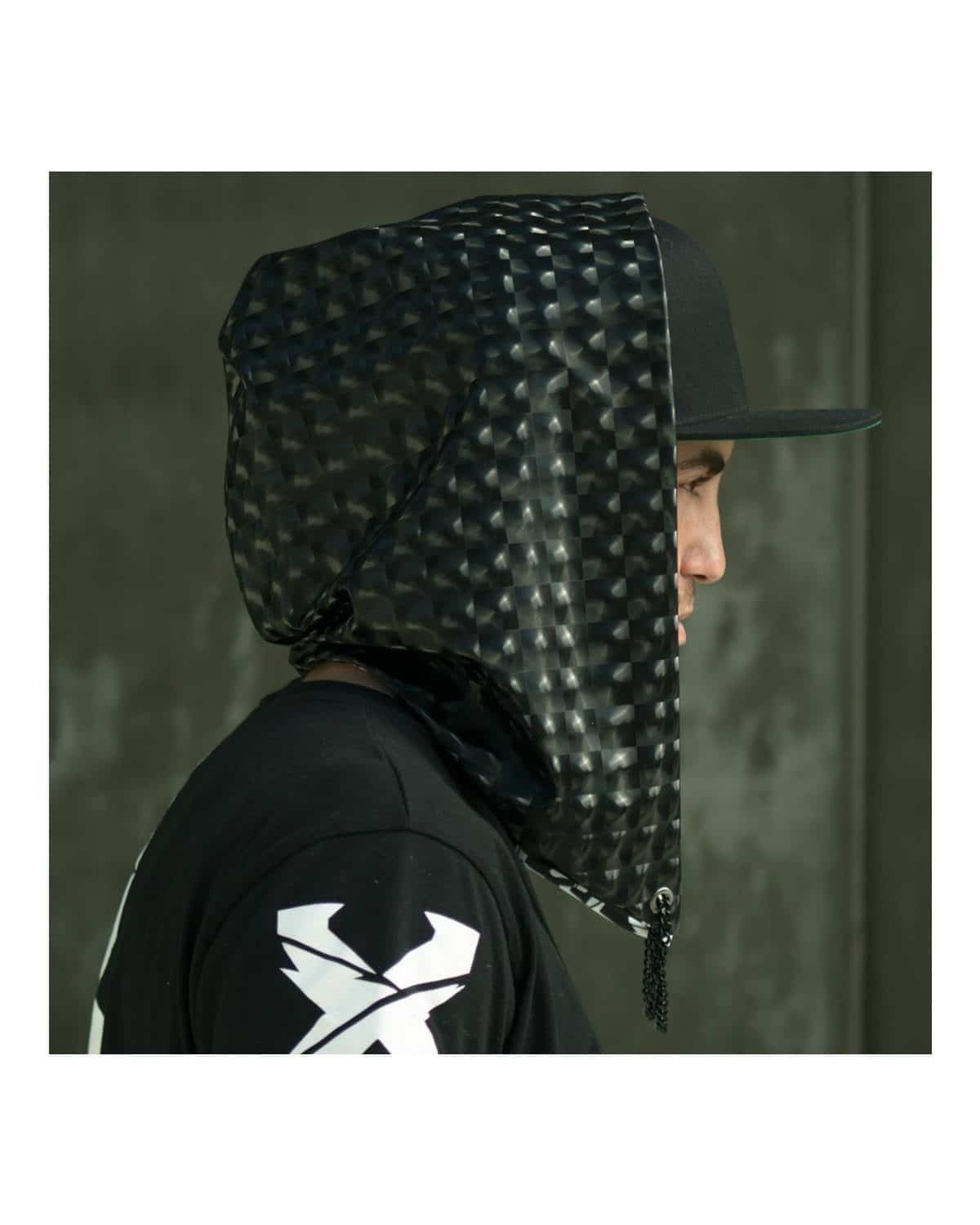 Excision Unisex Dark Disco Spandex Assassin Hood by Freedom Rave Wear