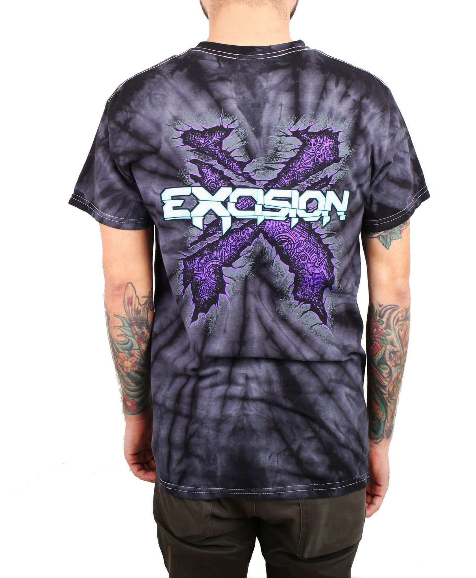 Excision 'UV Rex' Glow In The Dark Unisex T-Shirt