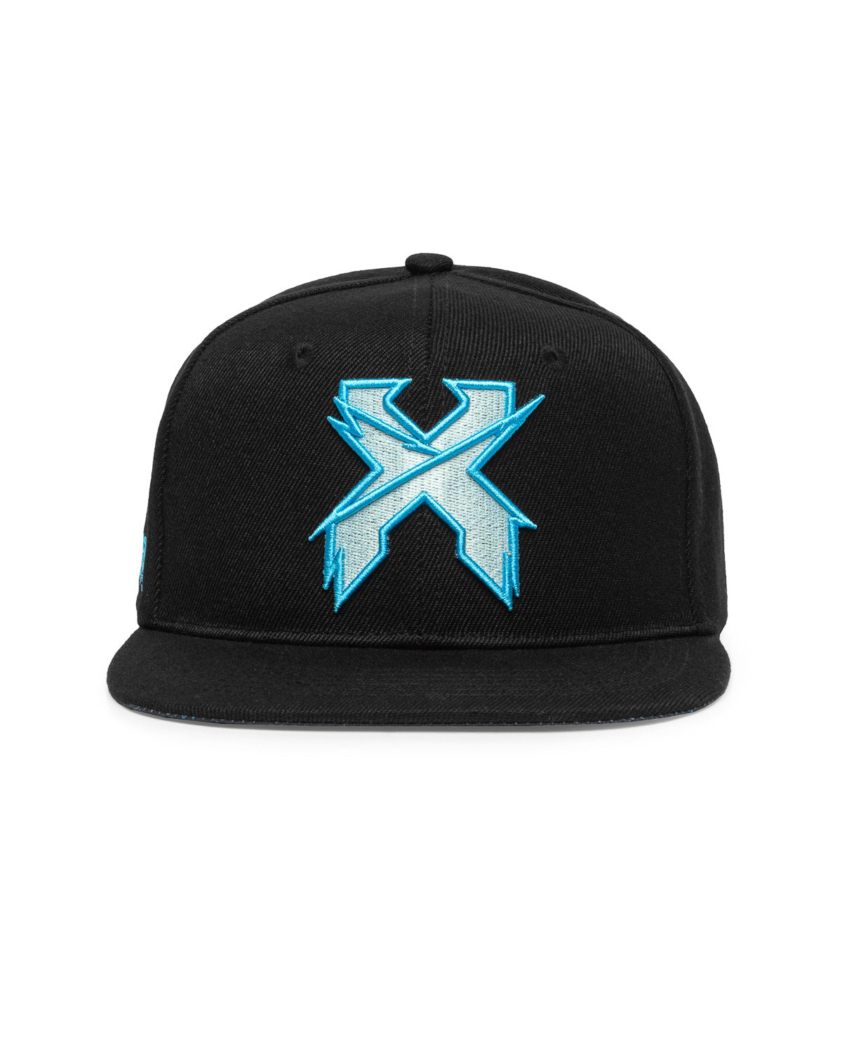 Excision 'UV Rex' Snapback - Black/Blue