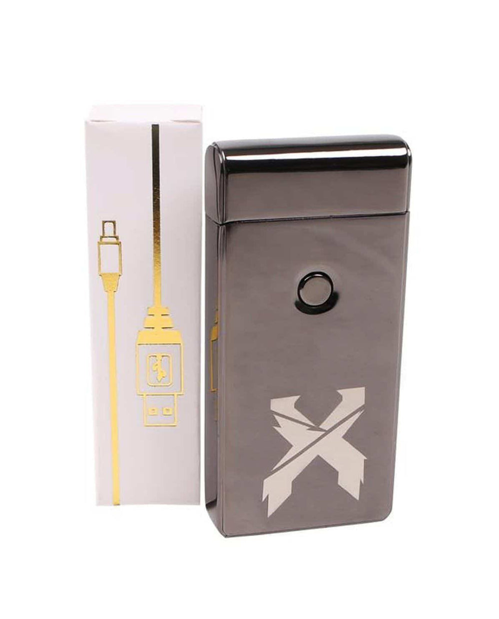 Excision X Flame Lighter - Brushed Black Version 2.0