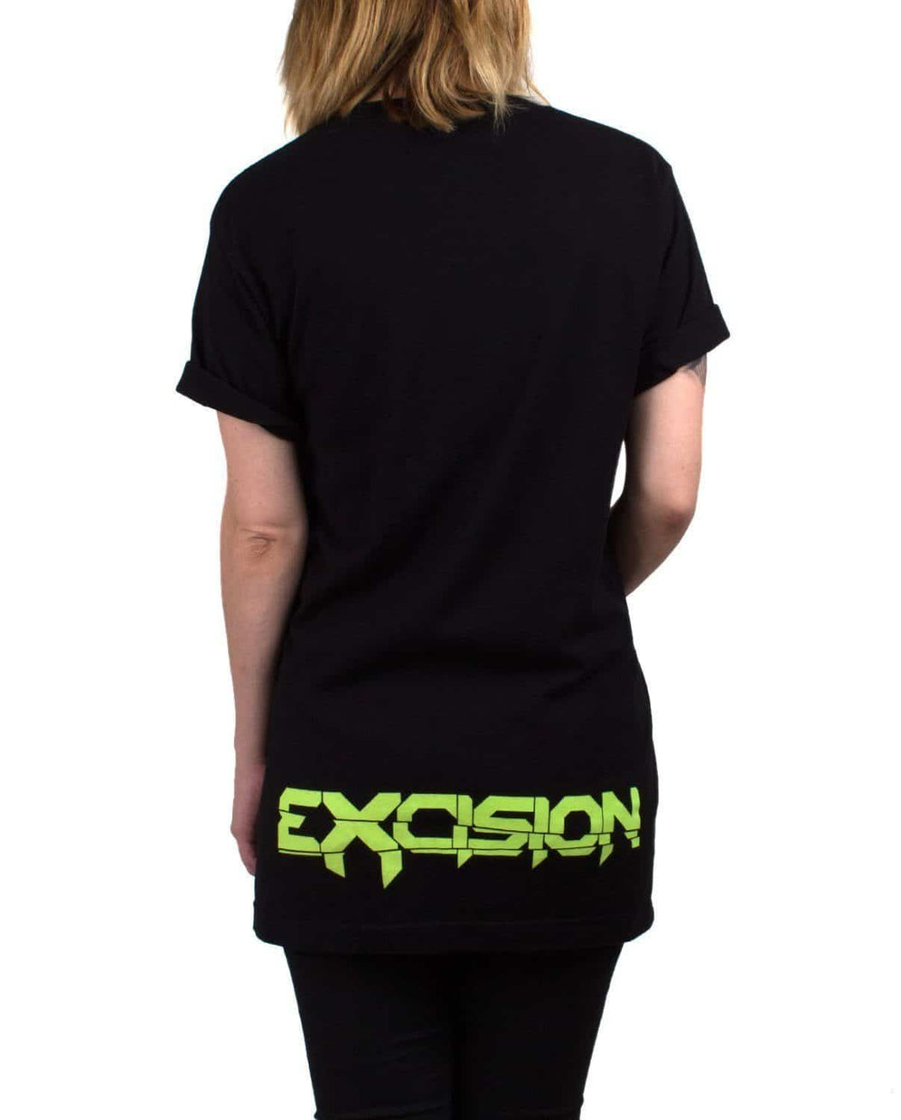 Excision Zombie X Black Unisex T-Shirt