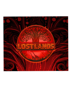LOST LANDS 'TREE OF LIFE' BLANKET (RED)