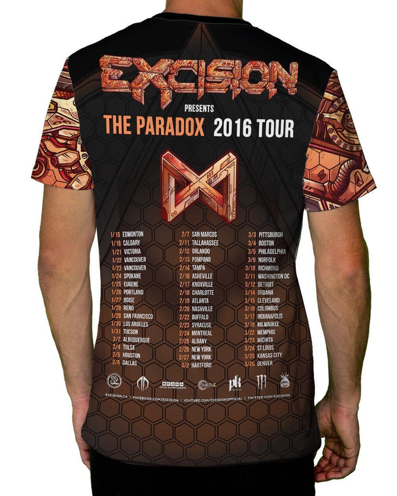 Excision Paradox 2016 Tour Tee - Bronze