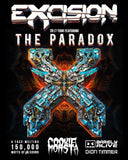 Excision 2017 Tour Featuring The Paradox - Santa Cruz, CA 01/26