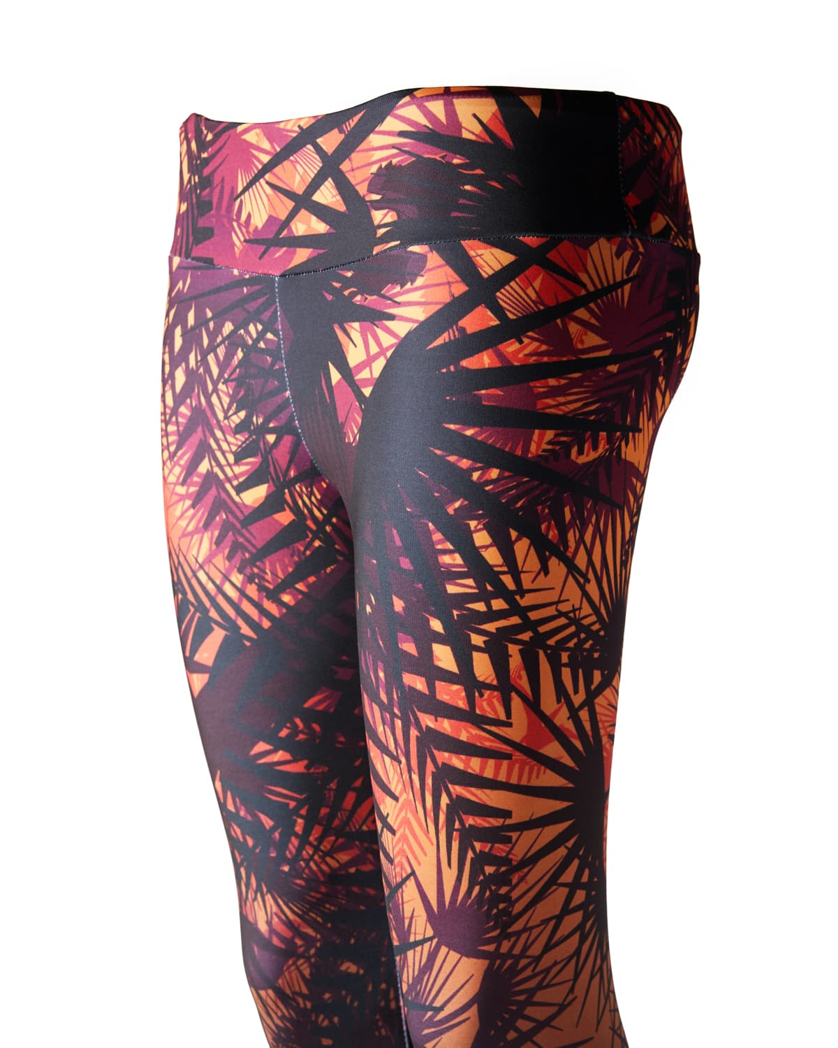 Lost Lands 'Foliage' Leggings (Orange)