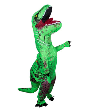 Inflatable Rex Costume - Green