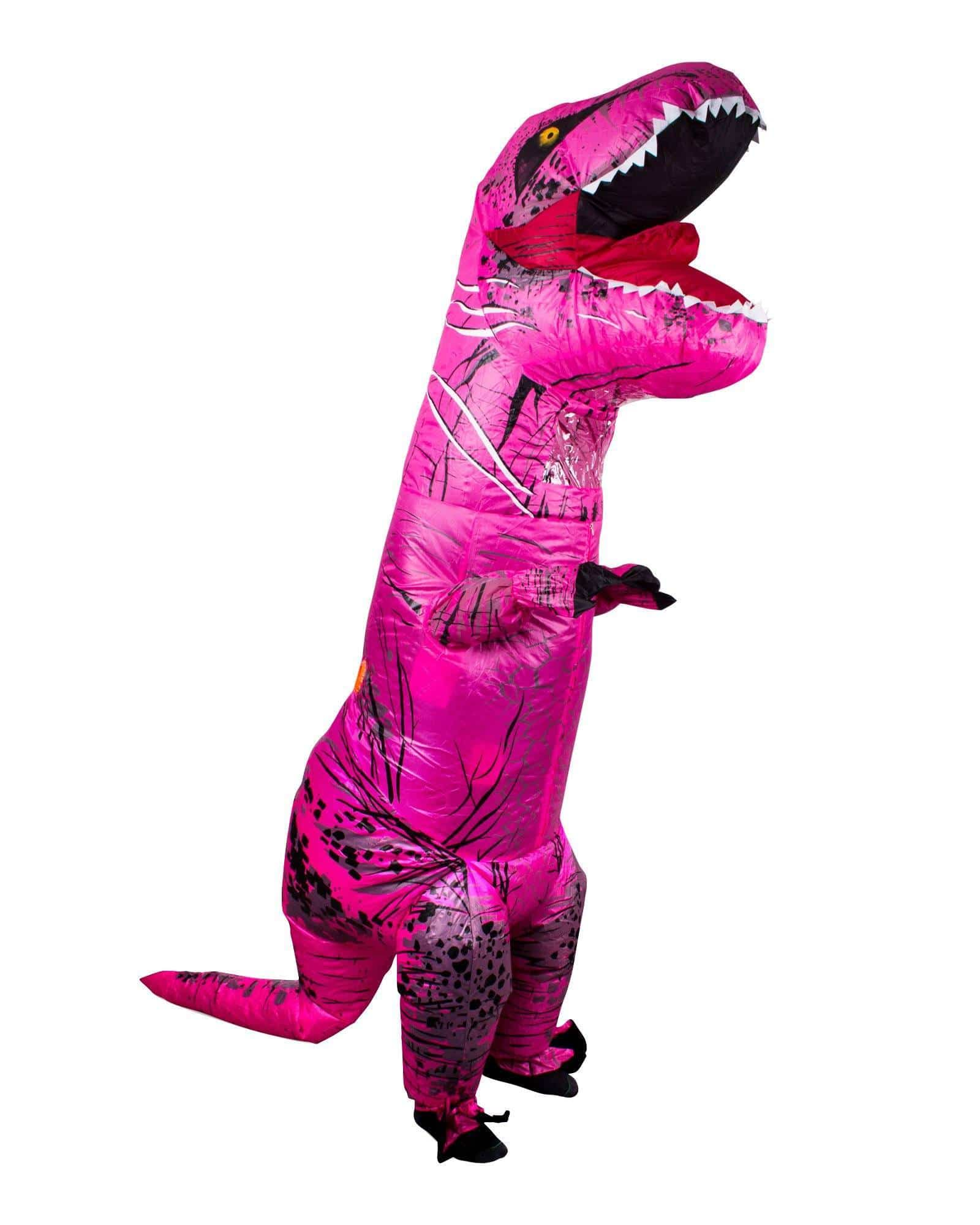Inflatable Rex Costume - Pink