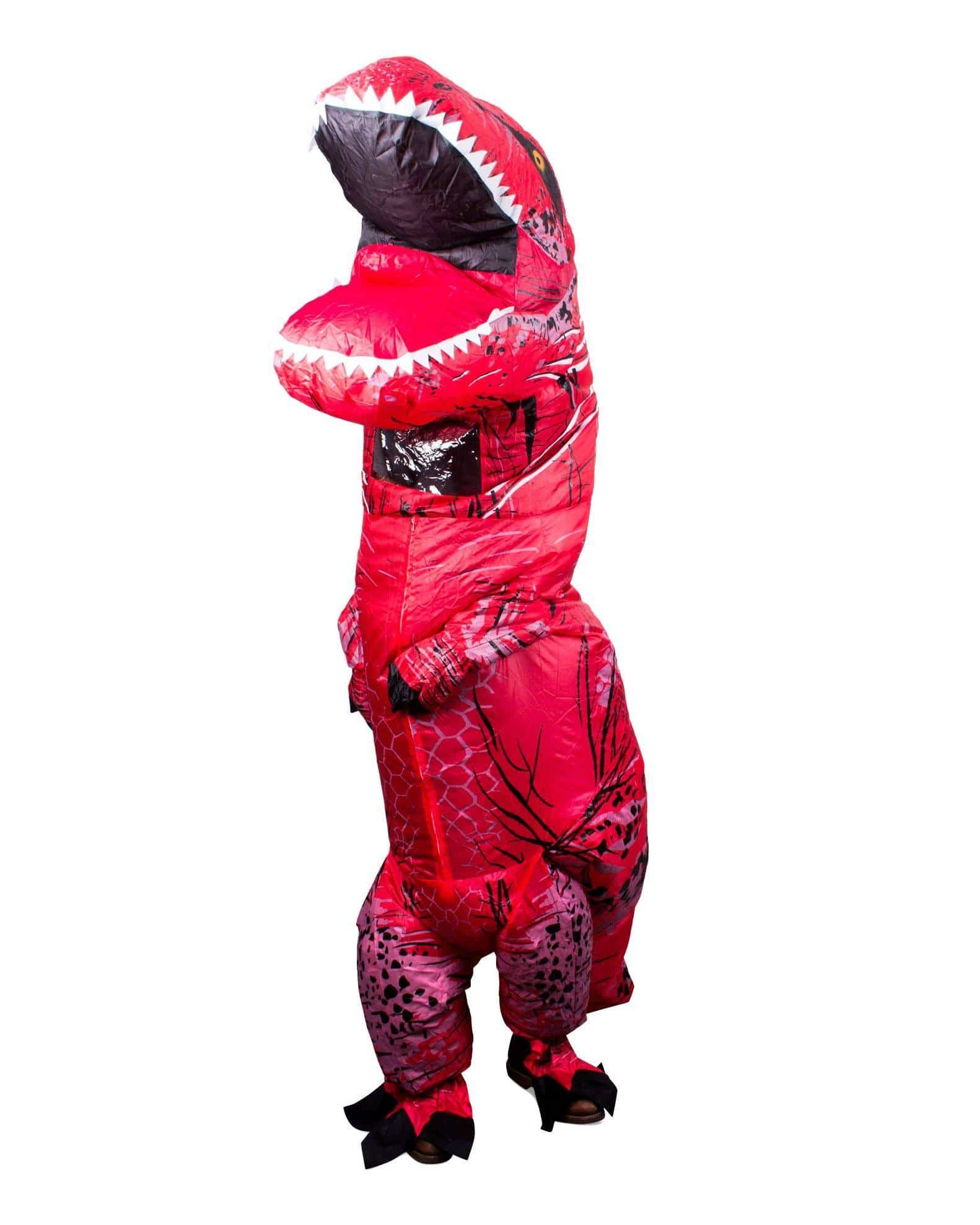 Inflatable Rex Costume - Red