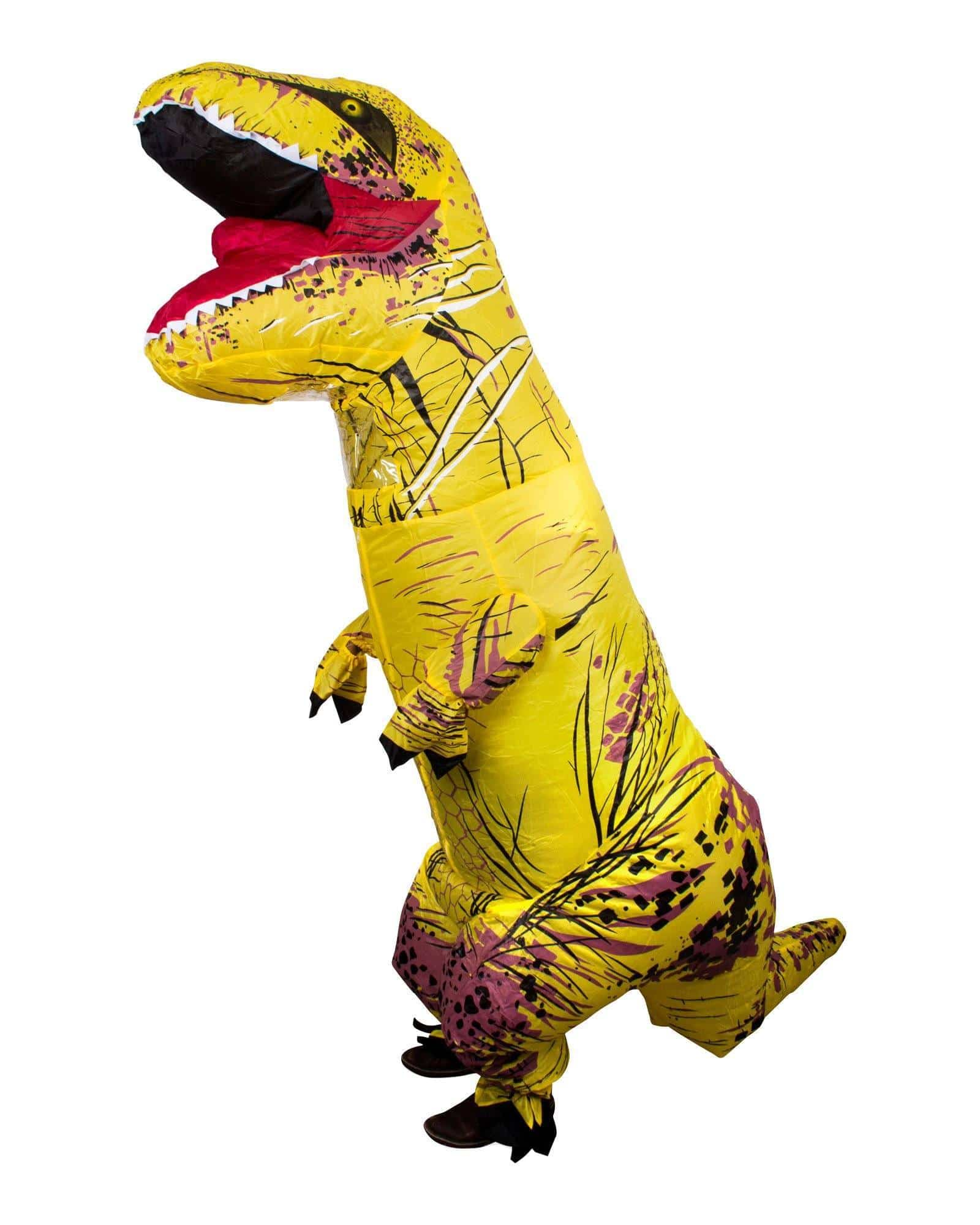 Inflatable Rex Costume - Yellow