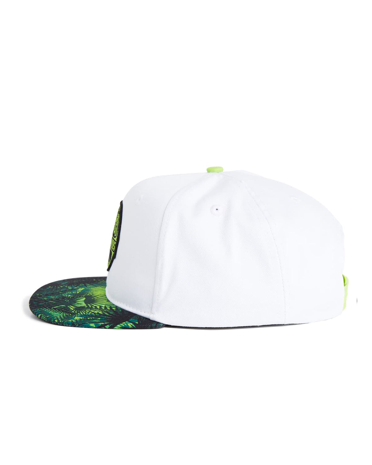 55538435d Lost Lands 'Tree of Life' Snapback (White/Green)