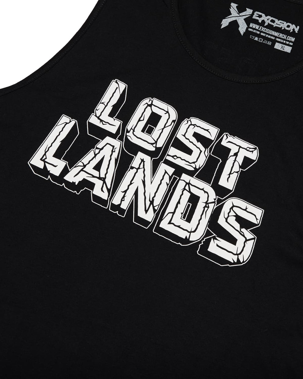 Official Lost Lands 2018 Tank Top (Black/White)