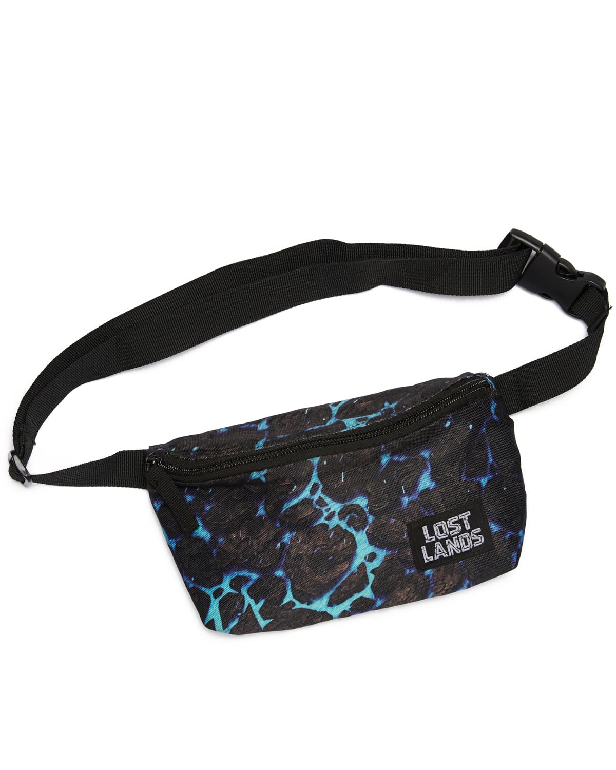 Lost Lands 'Magma' Fanny Pack (Blue)