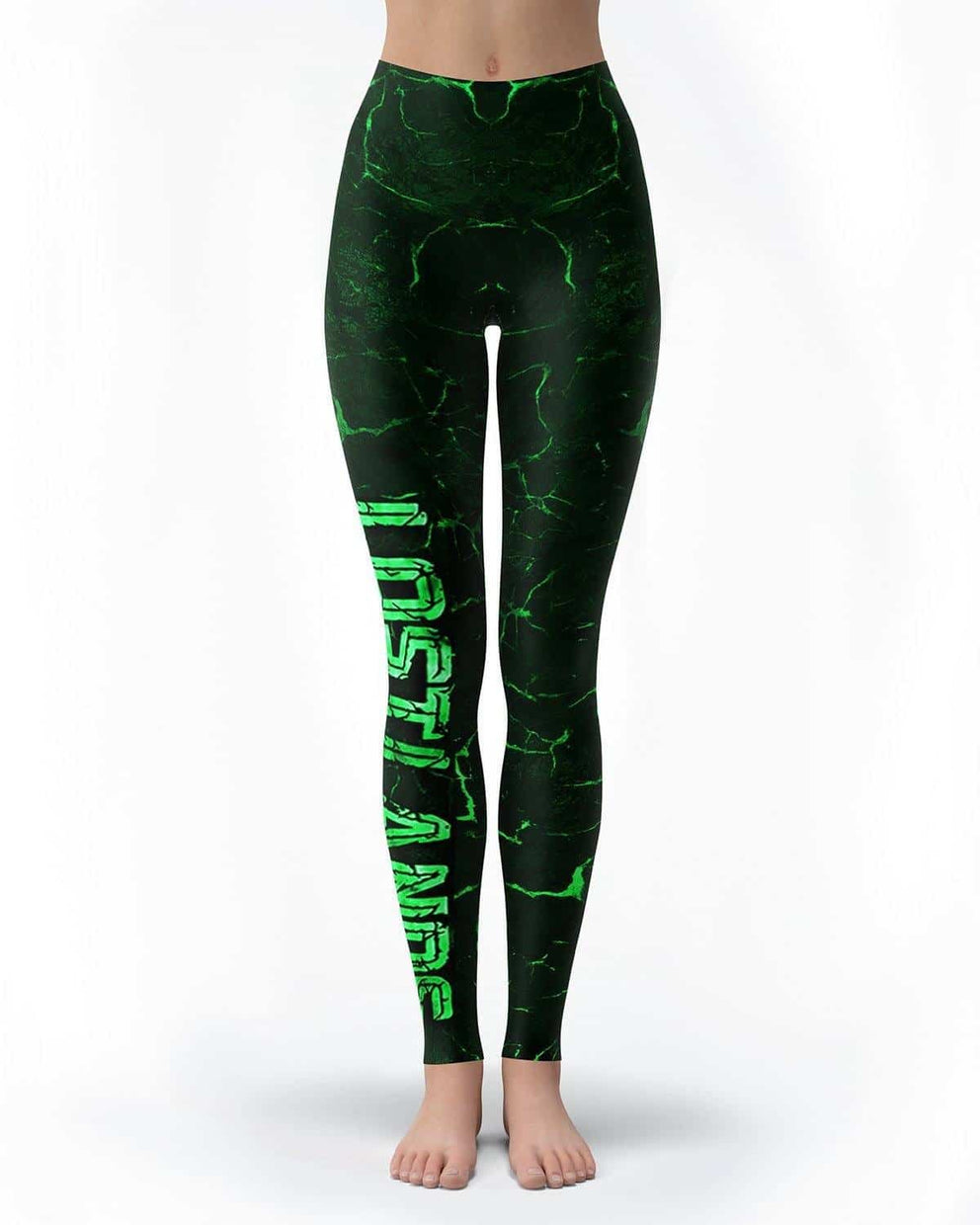 Lost Lands All Over Print Leggings - Green