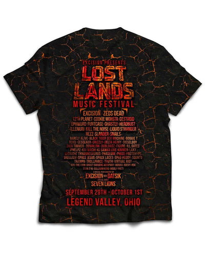 Lost Lands All Over Print T-Shirt - Ember