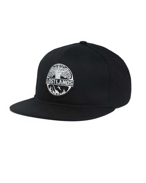 Lost Lands Basic Snapback - Black