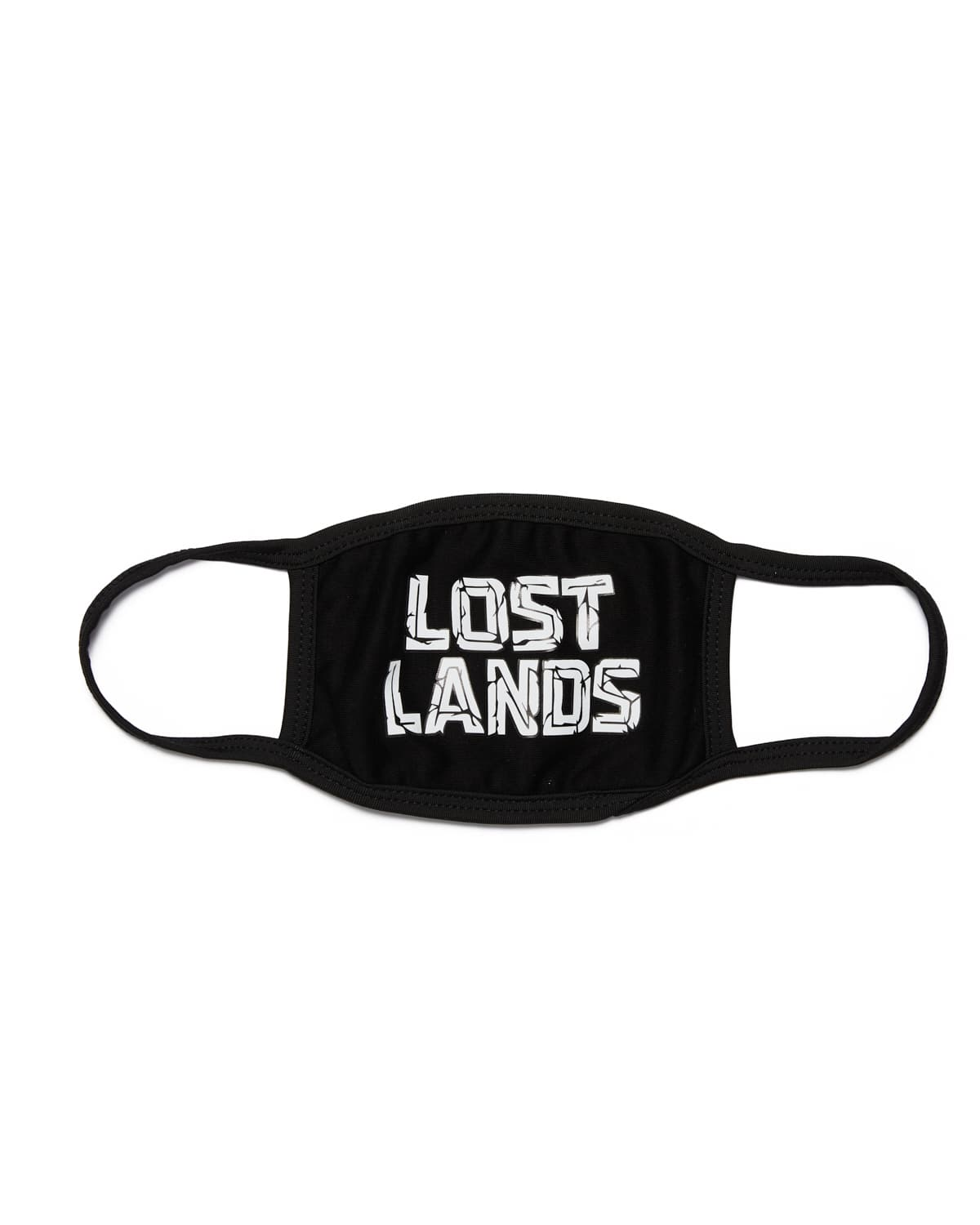 Lost Lands Logo Face Mask (black)