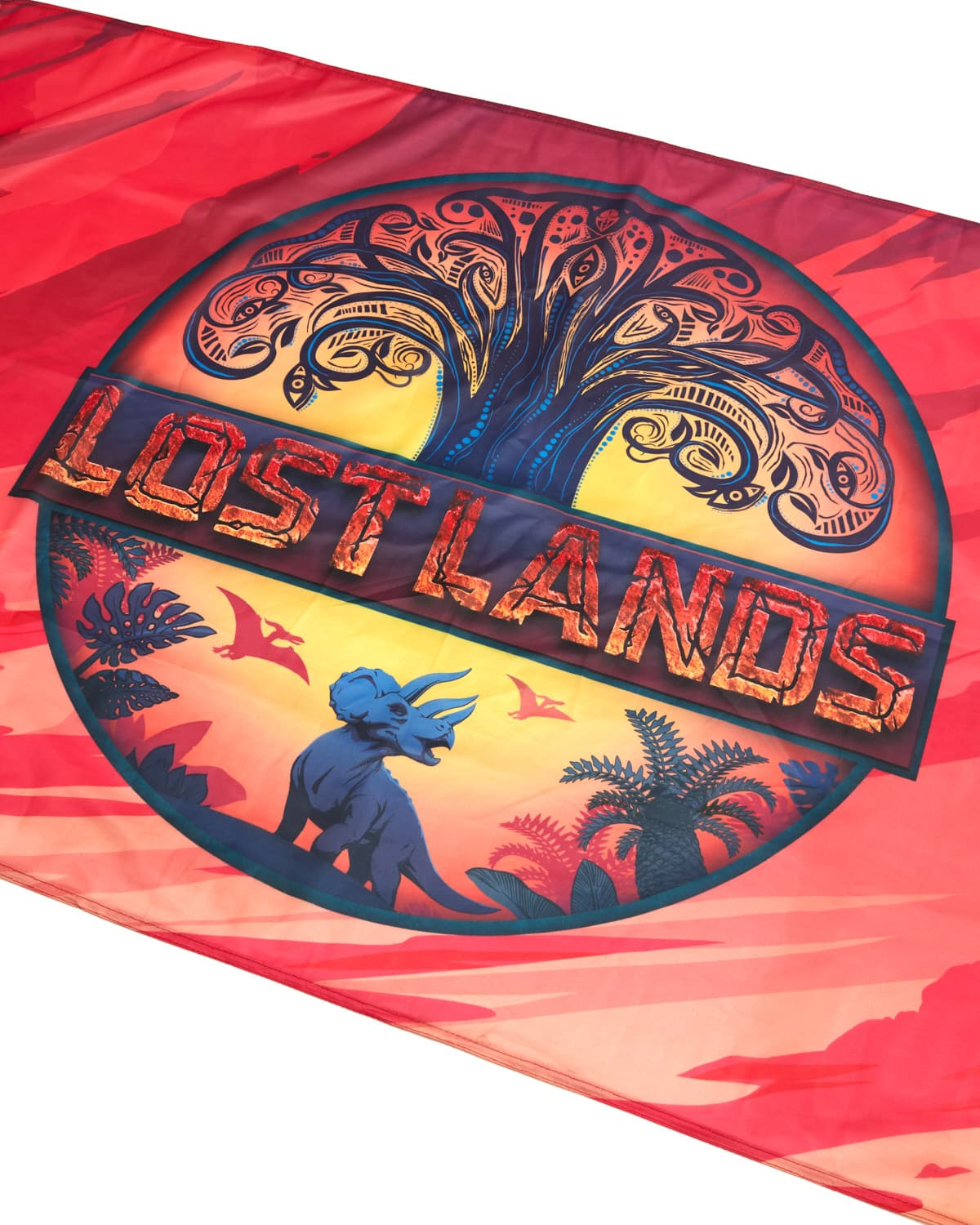 "Lost Lands Flag - 36"" x 24"" - Full Color"