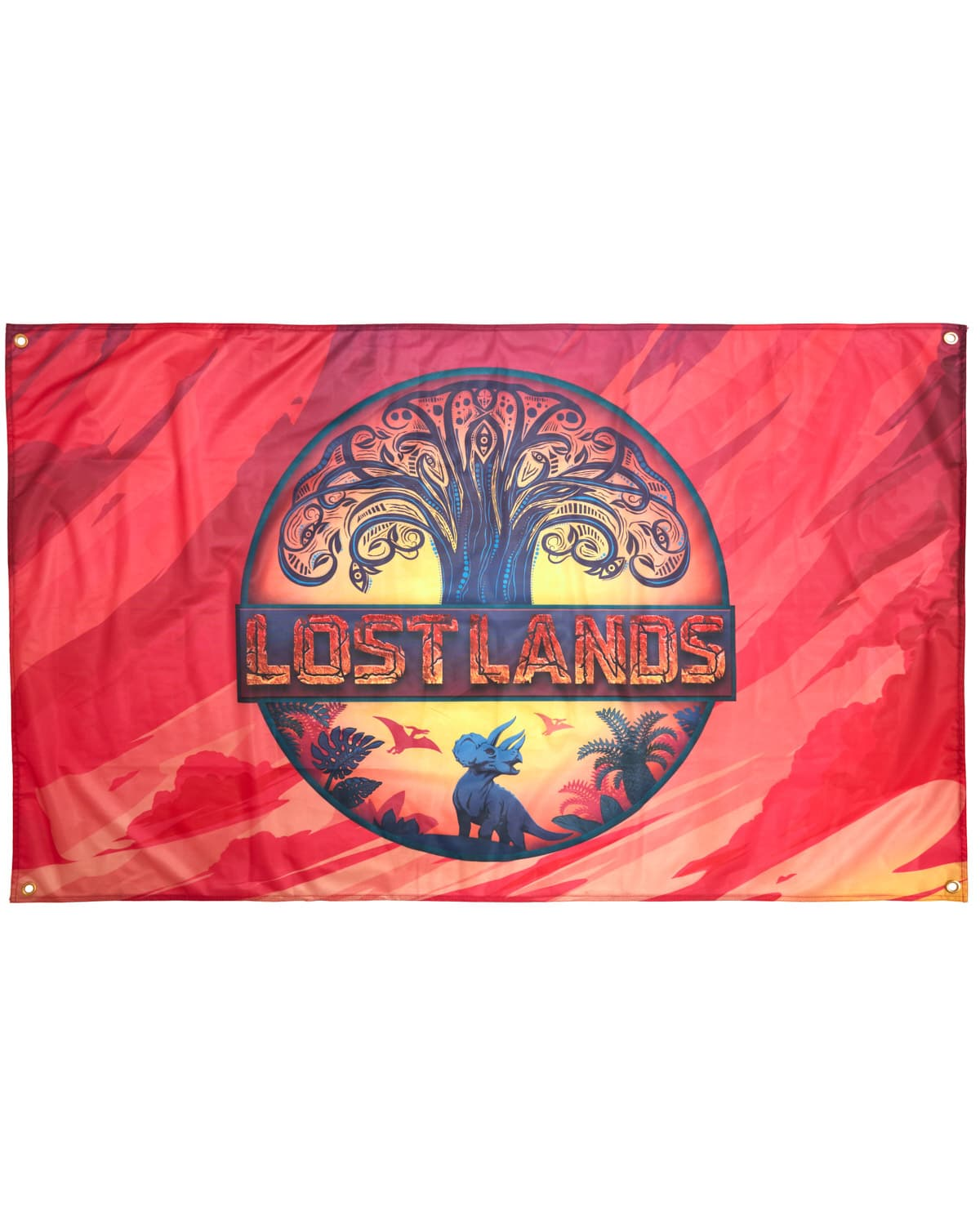 "Lost Lands Flag - 60"" x 36 - Full Color"