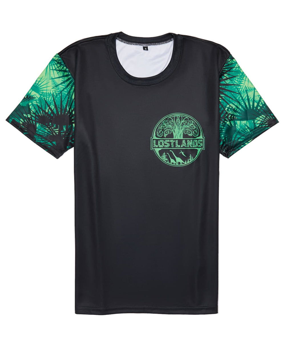 Official Lost Lands 2018 T-Shirt (Black/Green)