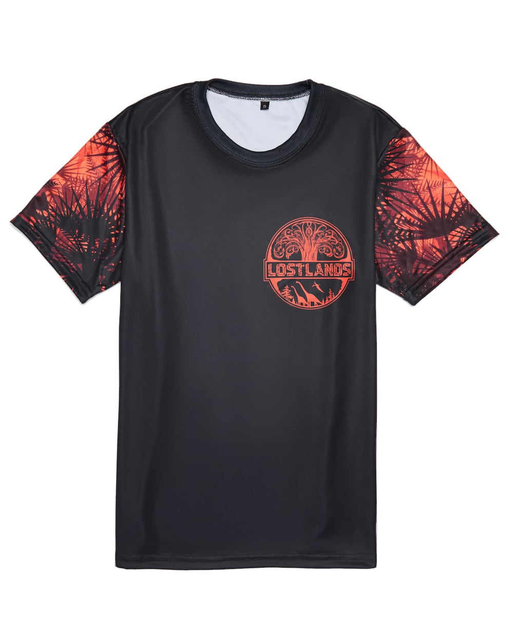 Official Lost Lands 2018 T-Shirt (Black/Red)