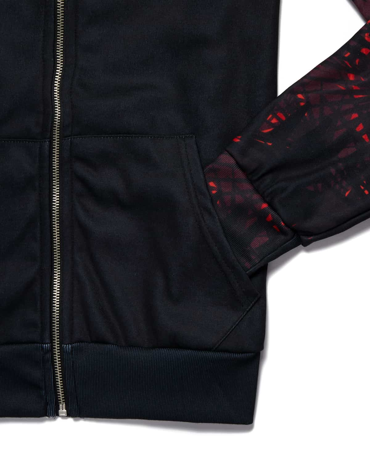 Lost Lands 'Foliage' Lineup Full-Zip Hoodie - Black/Red