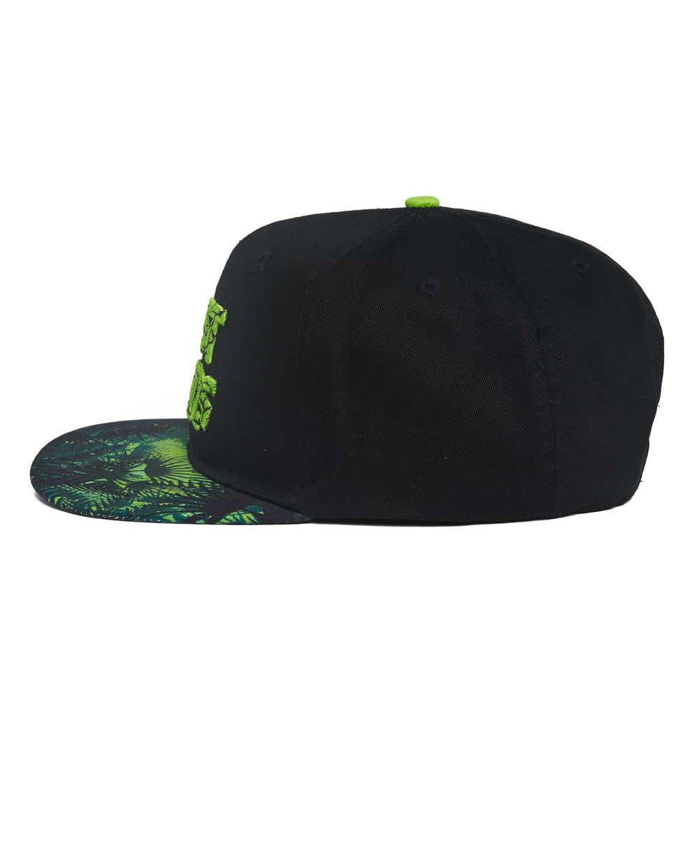 Lost Lands 2018 Foliage Snapback - Black/Green