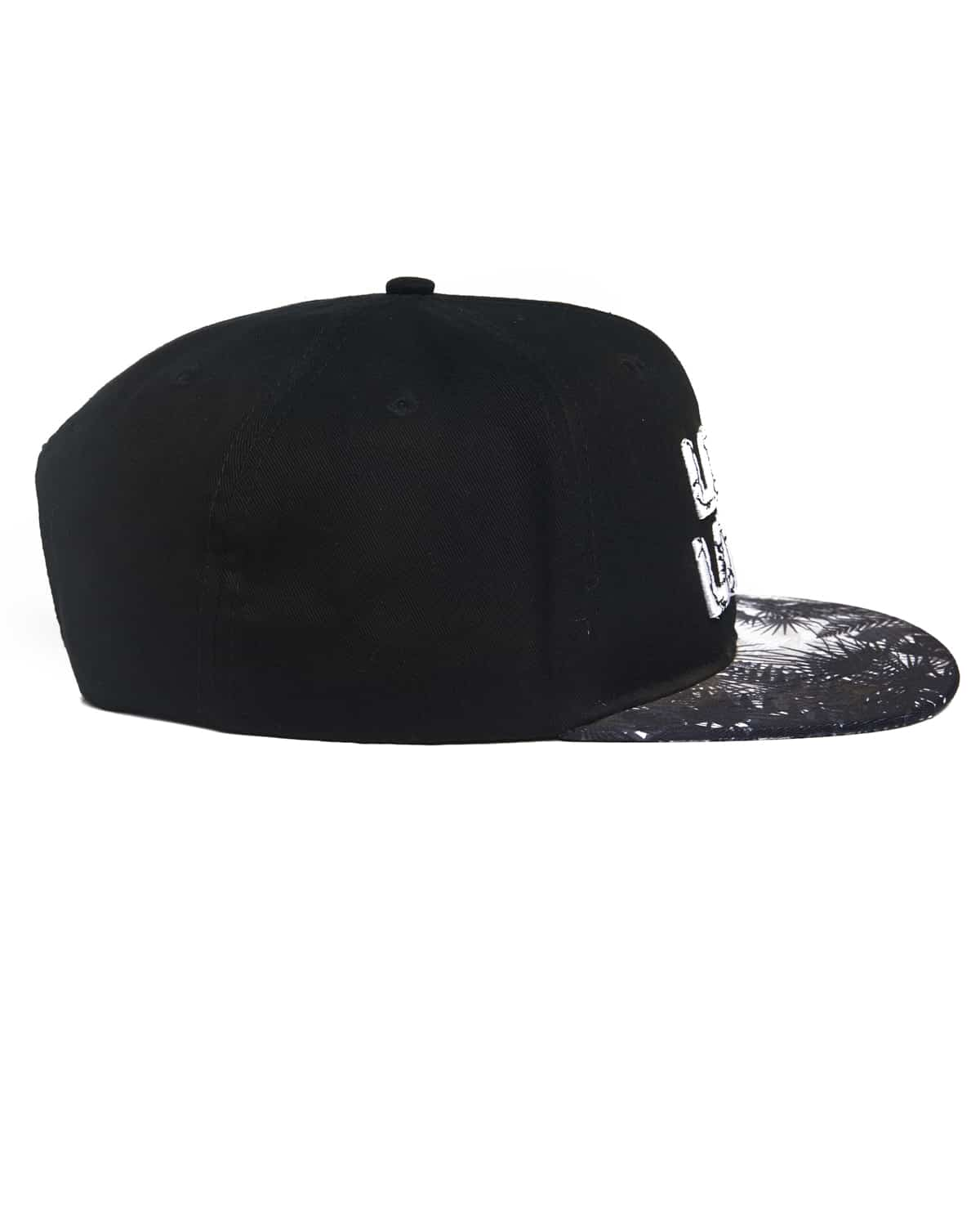 Lost Lands 'Logo' Snapback (Black/White)