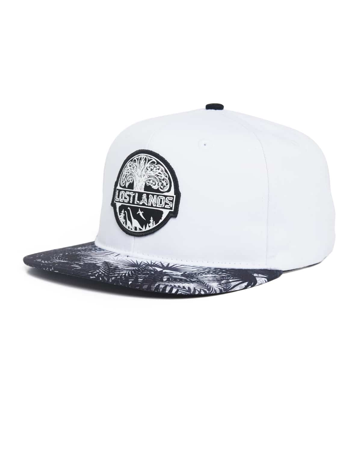 2018235e2 Lost Lands 'Tree of Life' Snapback (White/Black)