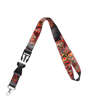 Lost Lands 'Magma' Lanyard (Black/Red)