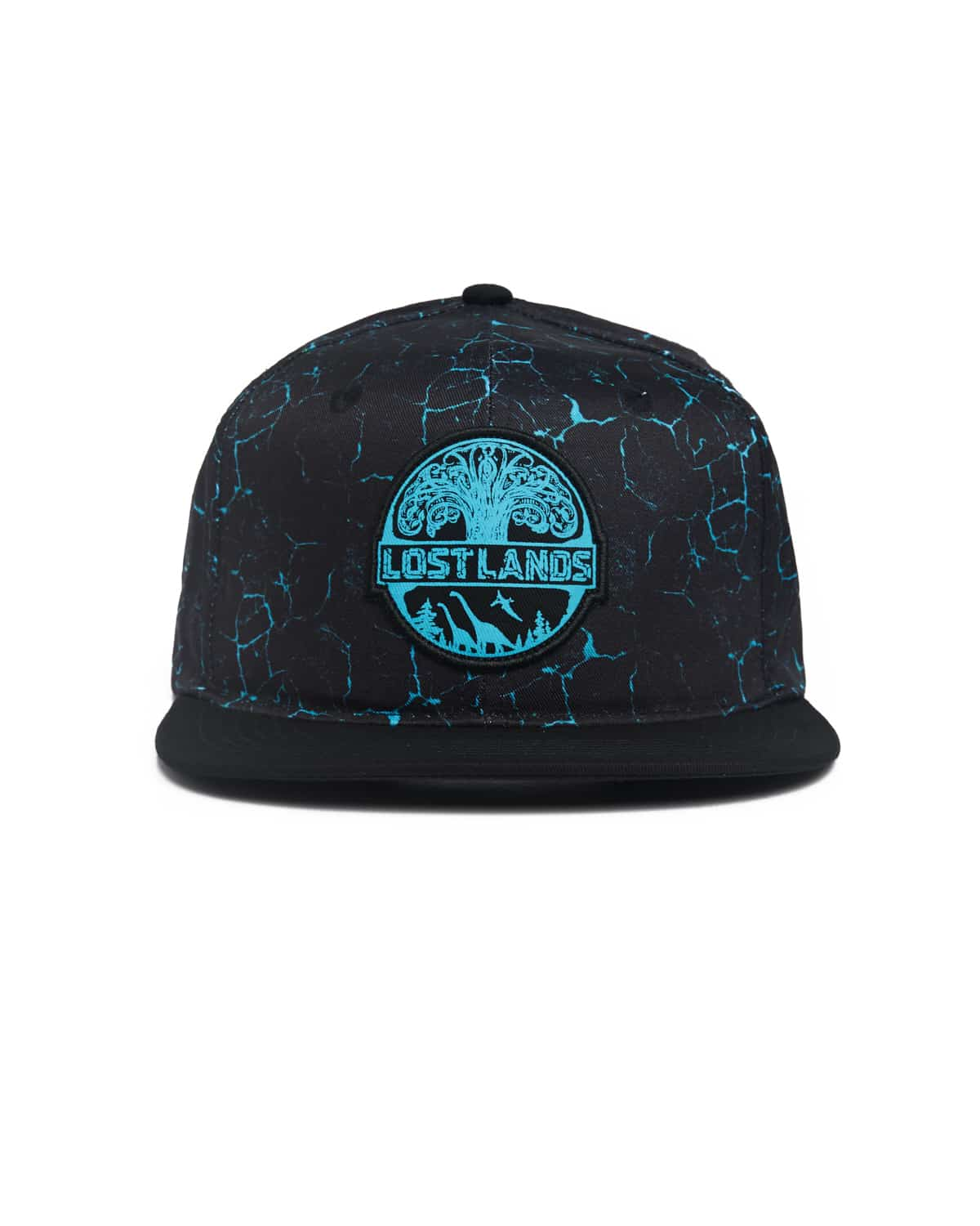 Lost Lands 'Magma' Snapback (Blue)