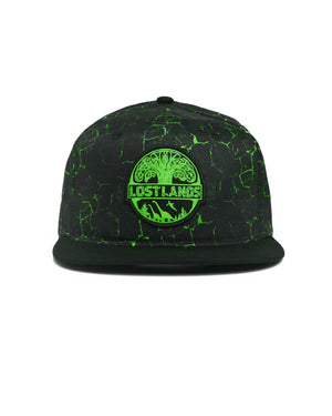 Lost Lands 'Magma' Snapback (Green)