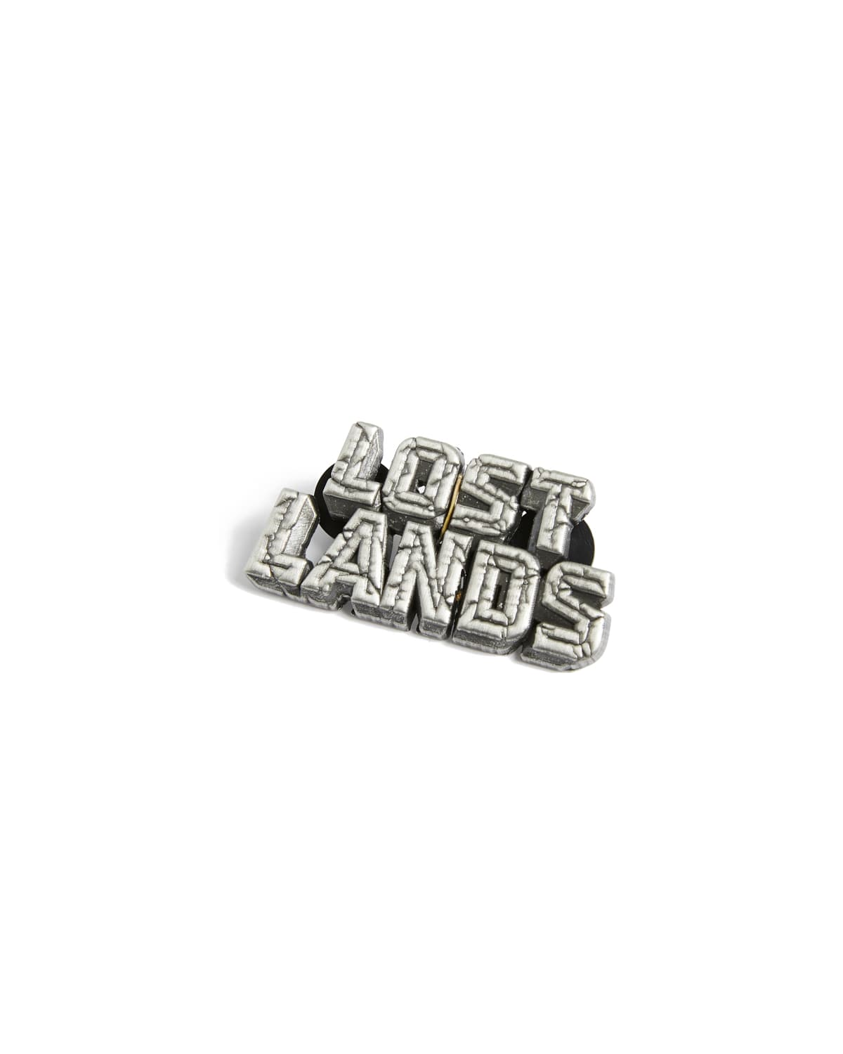 Lost Lands Logo Pin (Antique Silver)