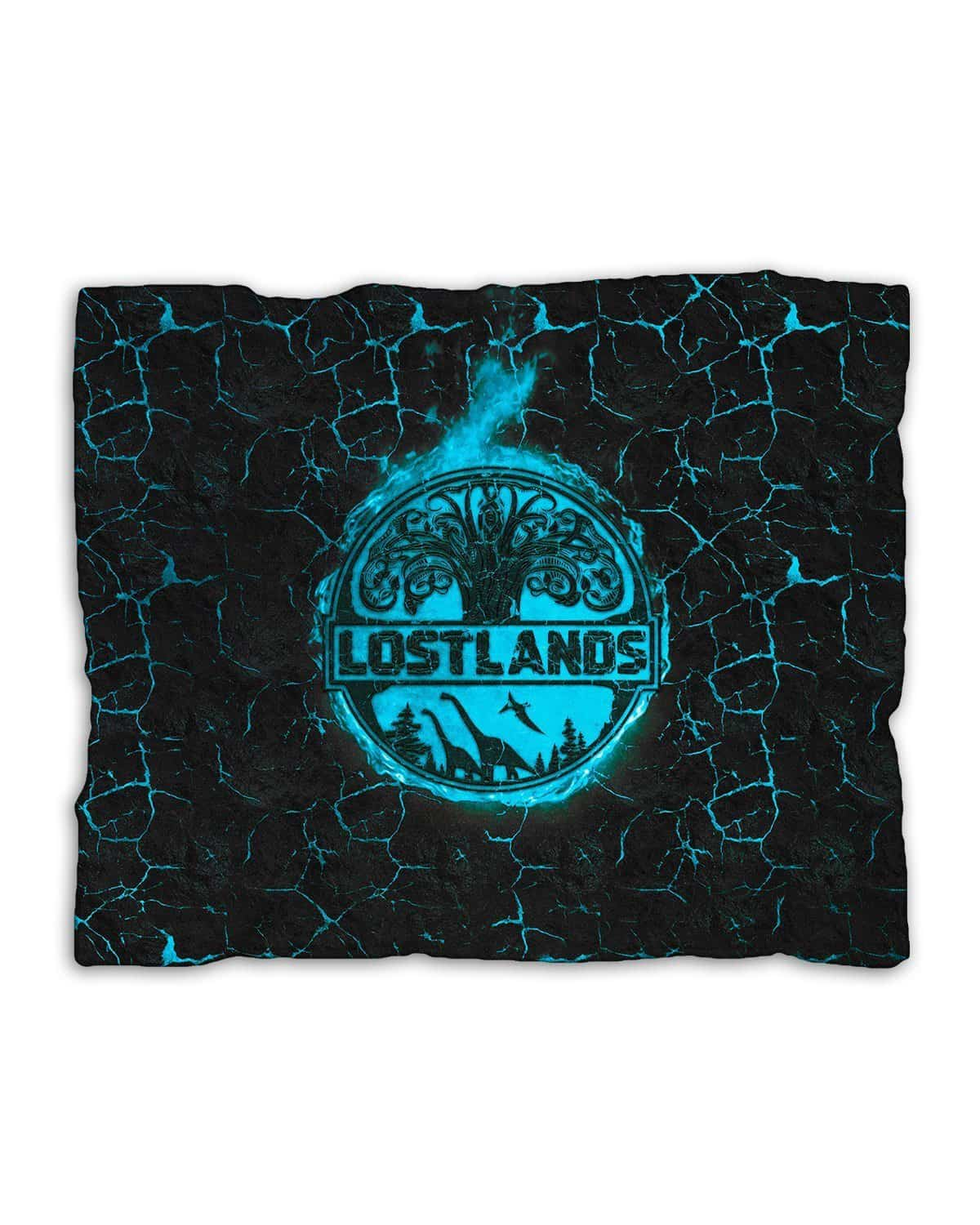 Lost Lands Magma Blanket - Blue
