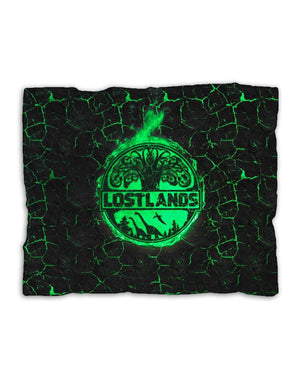 Lost Lands Magma Blanket - Green