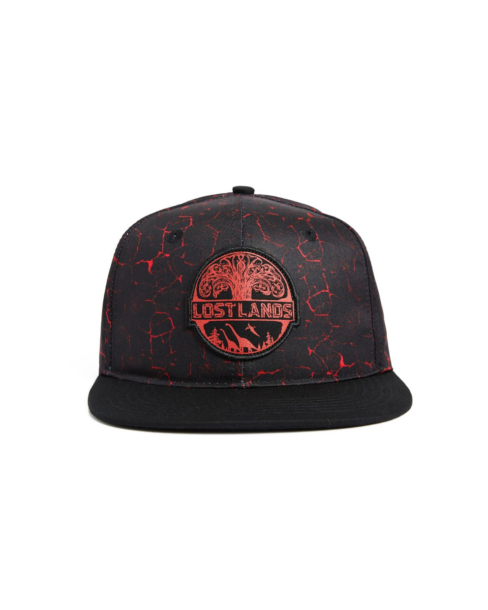 Lost Lands Magma Snapback (Red)