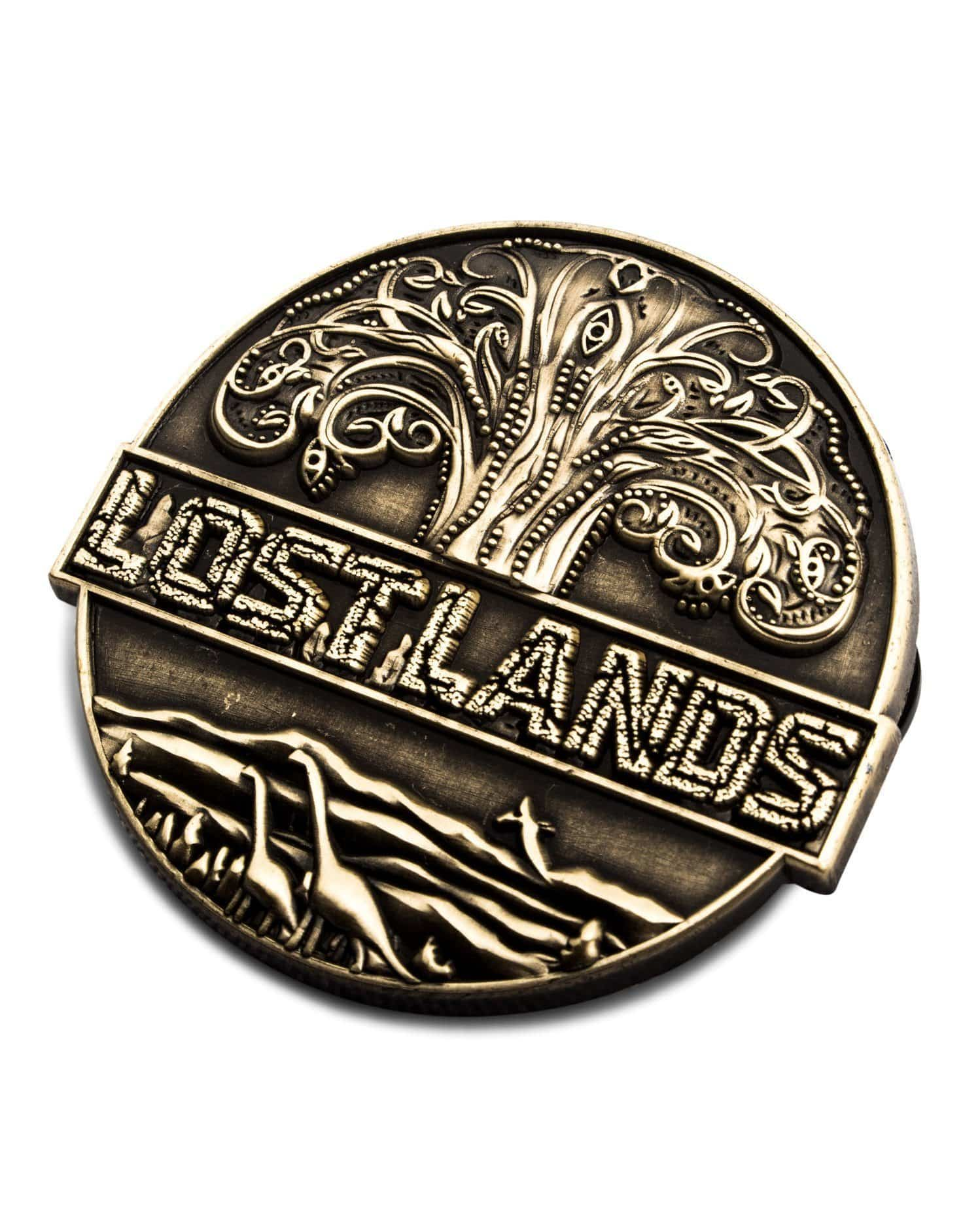 Lost Lands Pin - Antique Gold