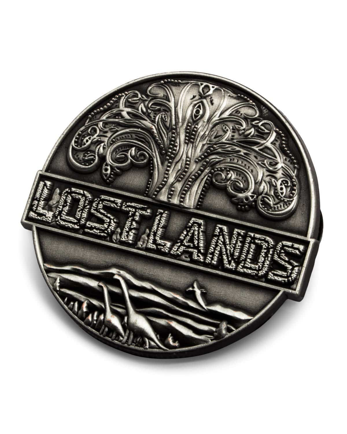 Lost Lands Pin - Silver