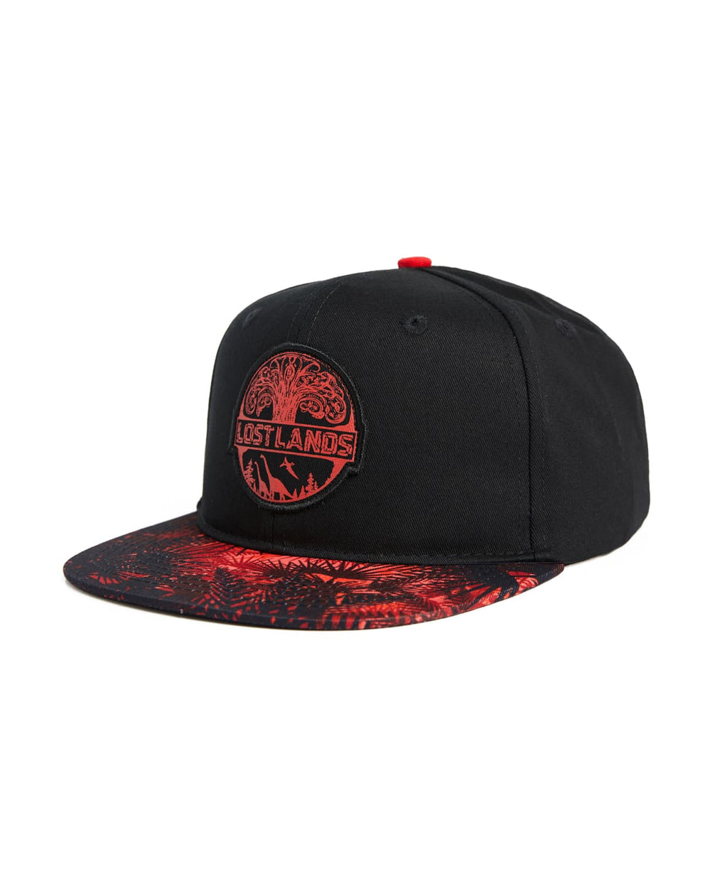 Lost Lands 'Tree of Life' Snapback (Black/Red)