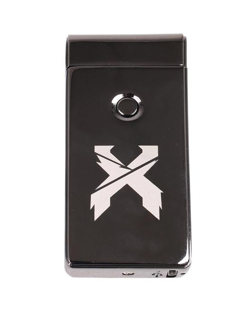 Excision X Flame Lighter - Brushed Black