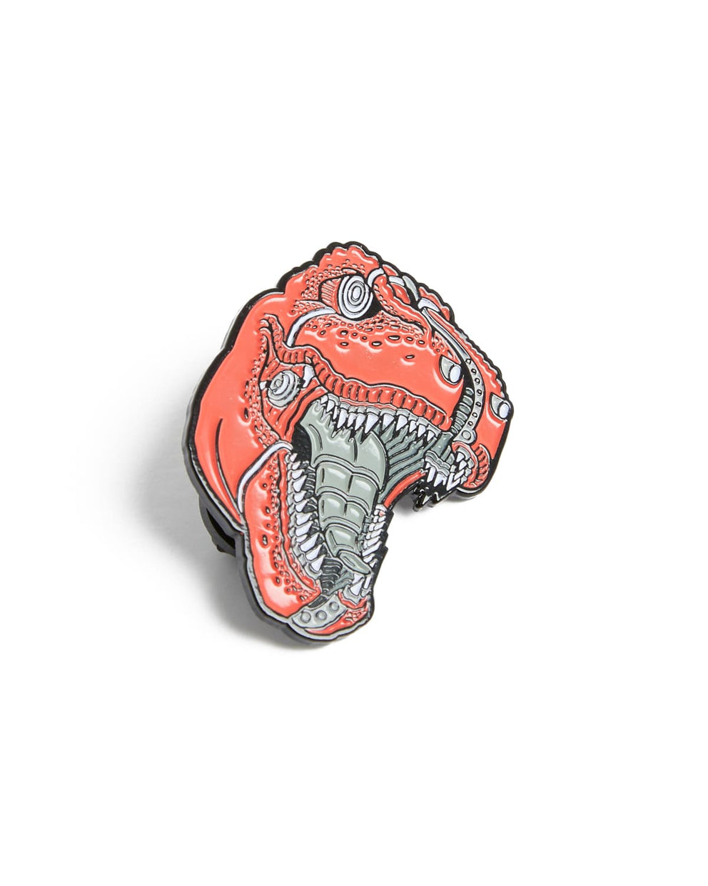 Mech Rex Pin - Red